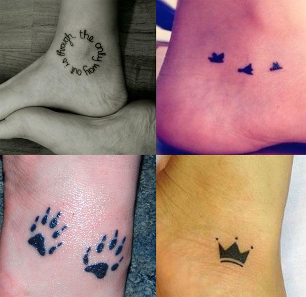 99 tatuaggi piccoli che vorreste avere a tutti i costi for Tatuaggi sul piede scritte