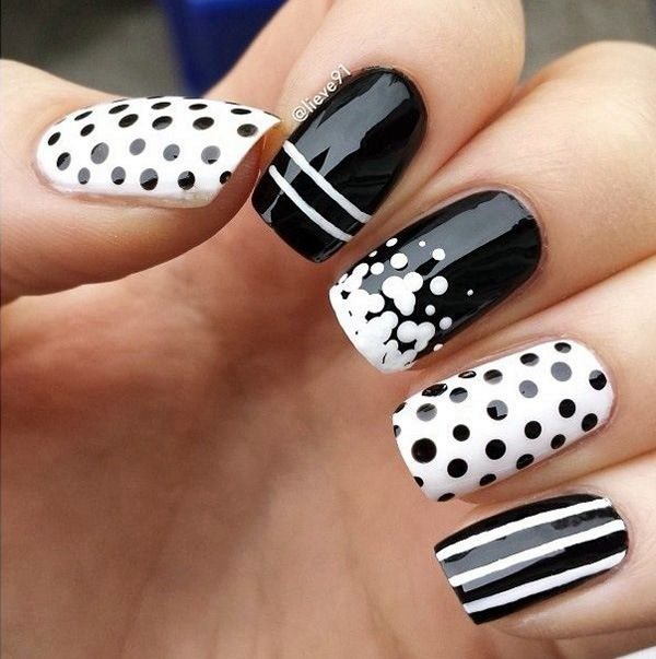 white-nails-art-designs-16