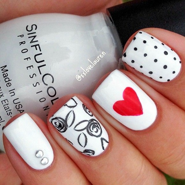 white-nails-art-designs-25
