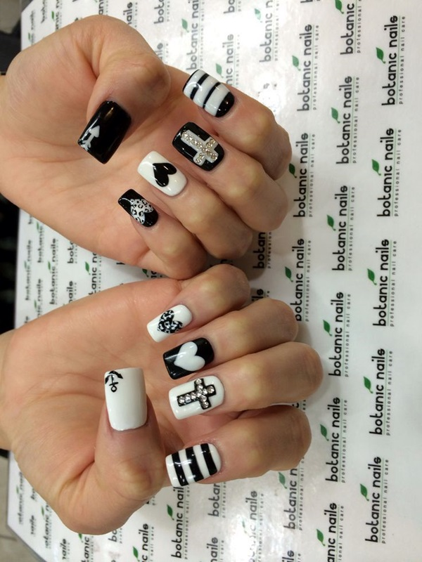 white-nails-art-designs-28
