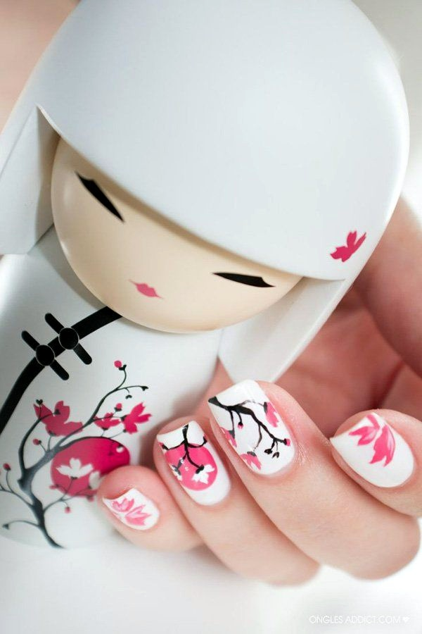 white-nails-art-designs-32