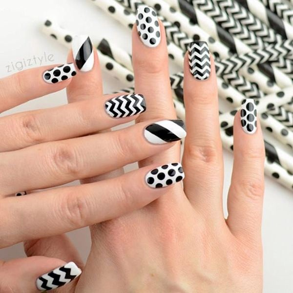 white-nails-art-designs-45