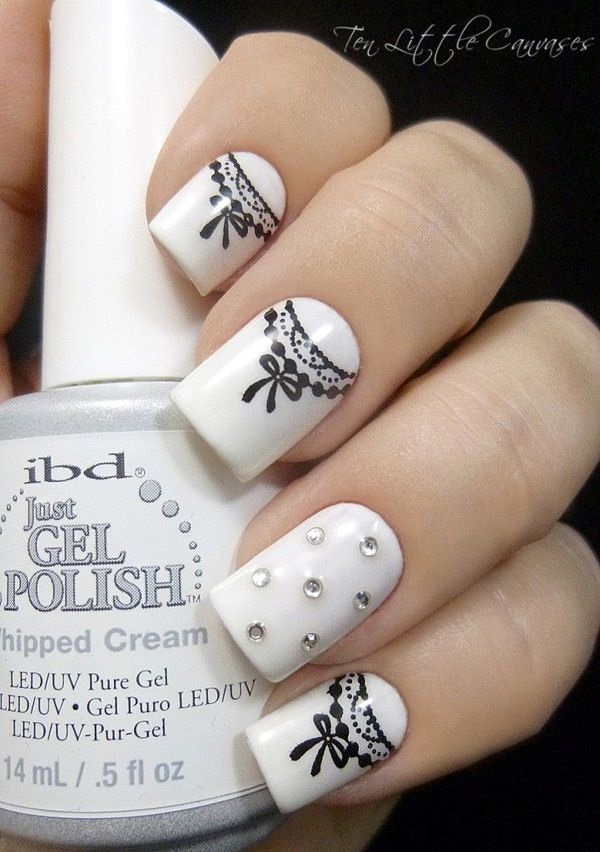 white-nails-art-designs-6