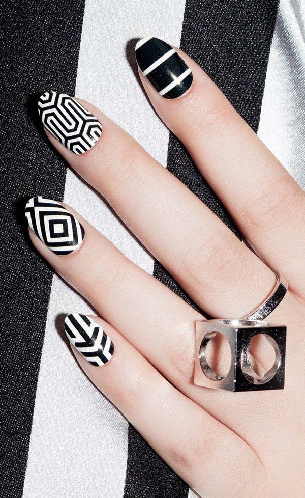 white-nails-art-designs-8