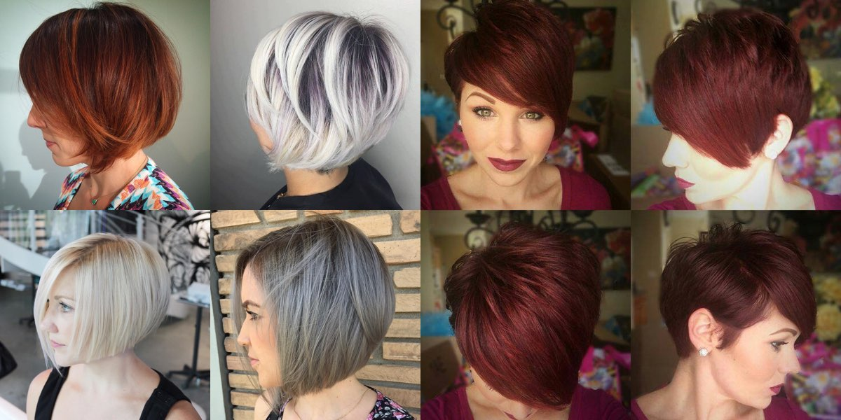 Taglio volume capelli fini