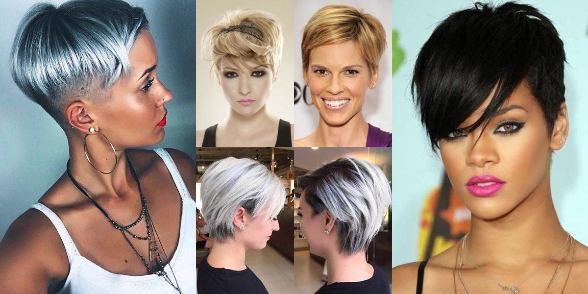 Taglio di capelli per fronte alta