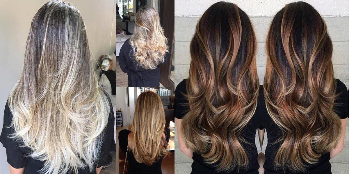 Immagini tagli di capelli lunghi