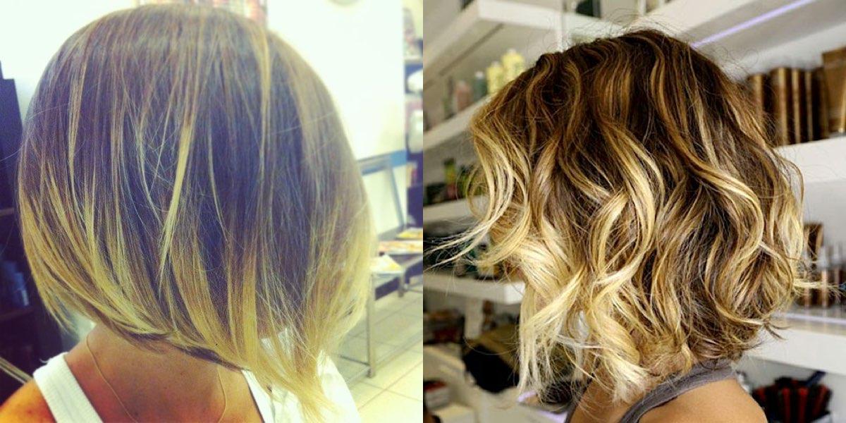Colore solo sulle punte dei capelli