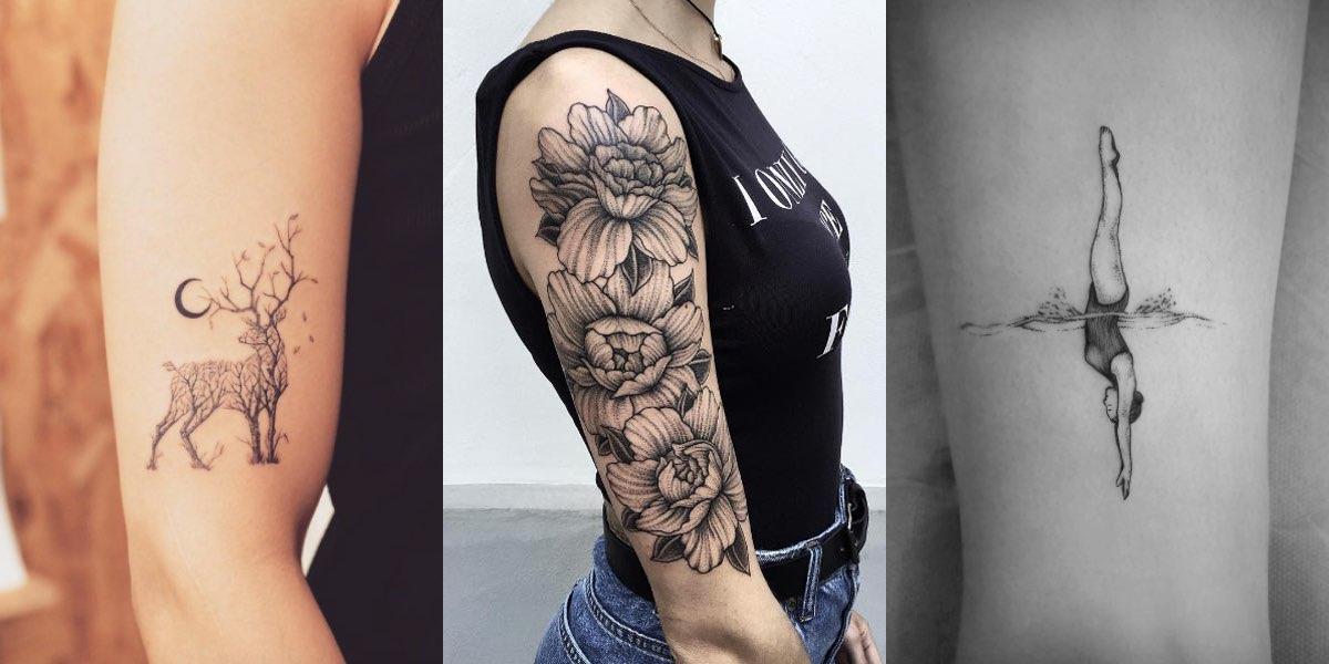 70+ fantastici tatuaggi femminili per il 2017!