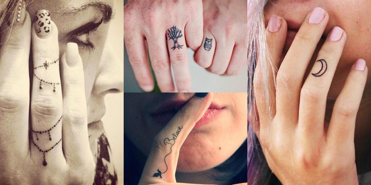50 Fantastici Tatuaggi Da Farsi Sulle Dita