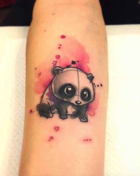 watercolor-panda-tattoo-design