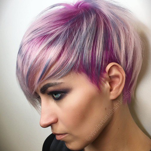 15-short-pastel-purple-hairstyle-with-highlights