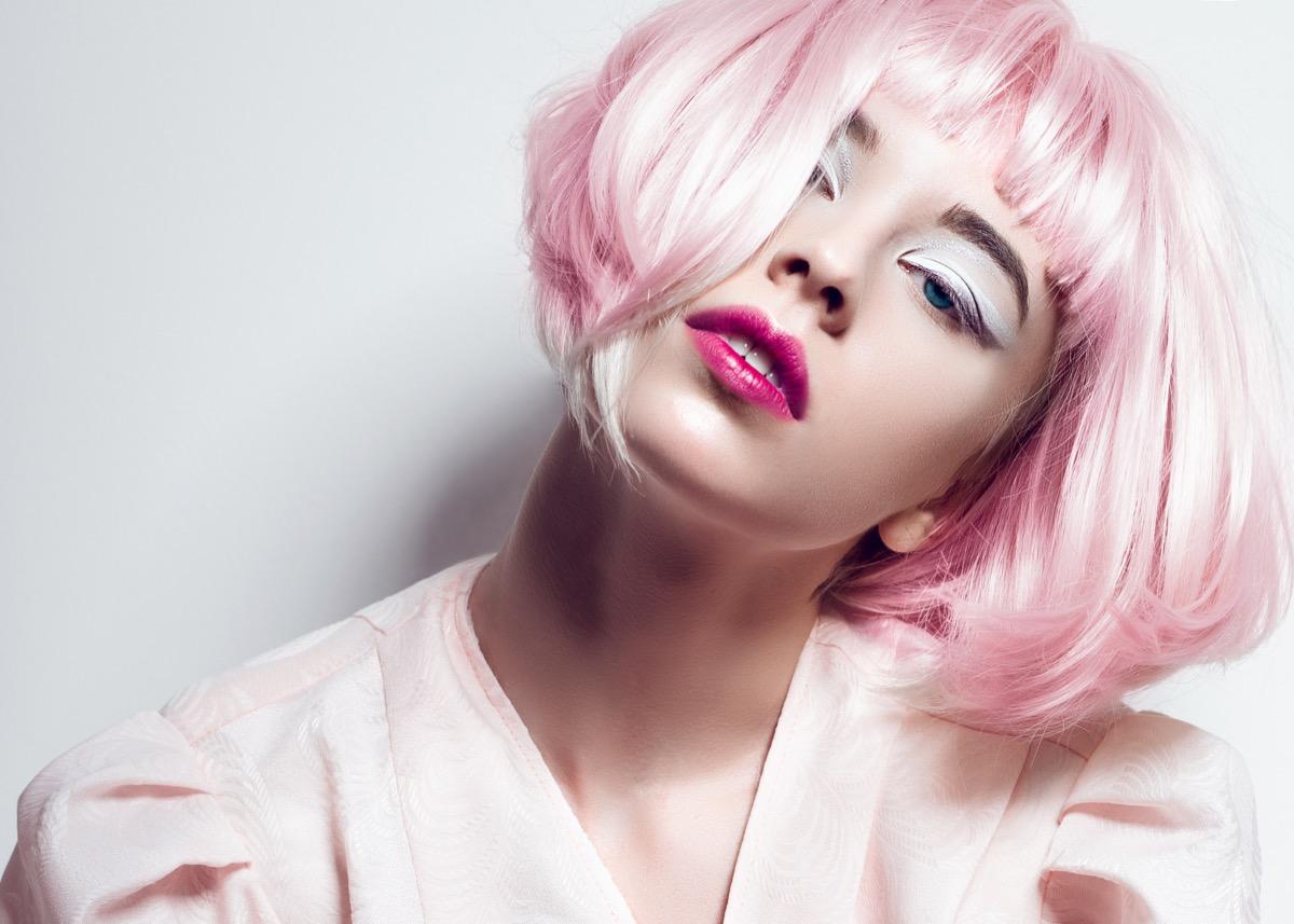 colorare i vostri capelli corti
