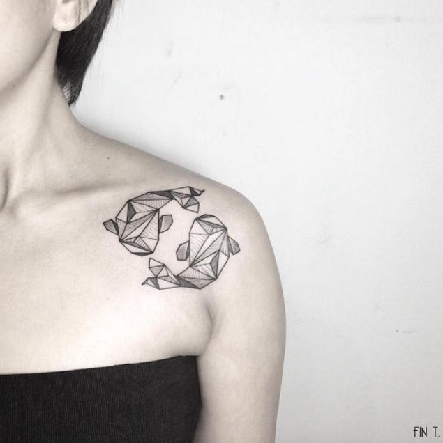 geometric-shark-tattoo
