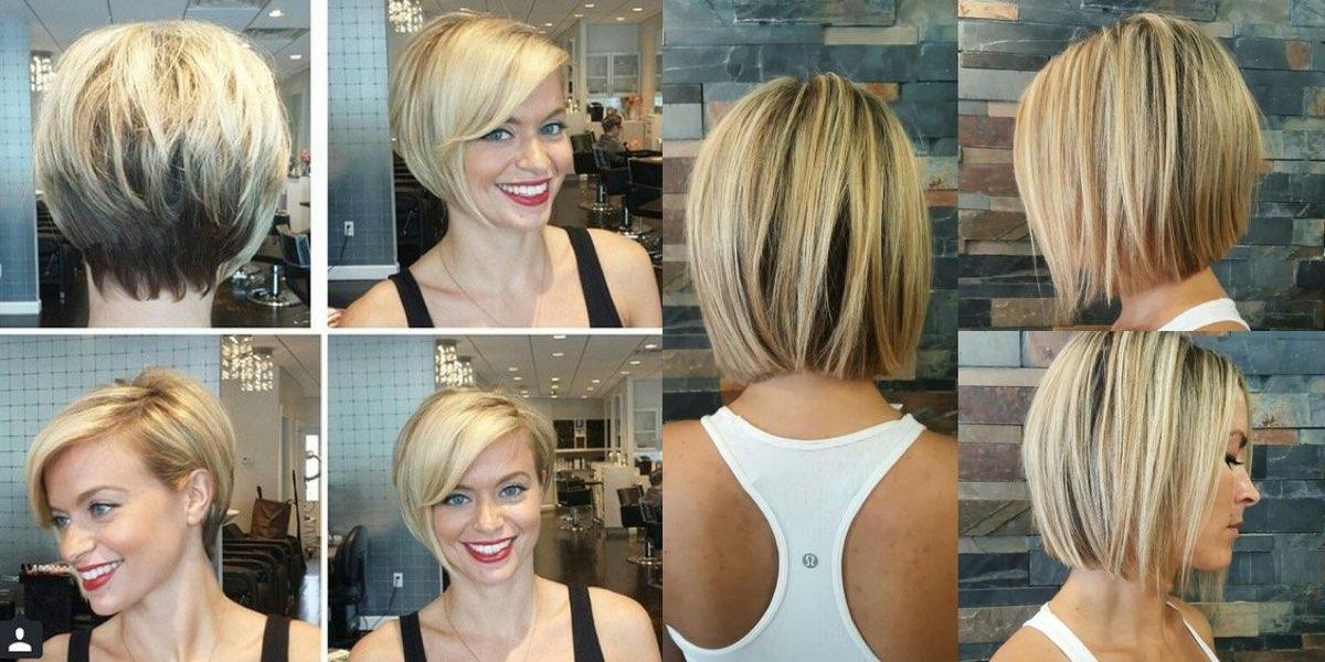 Taglio capelli dritti medi