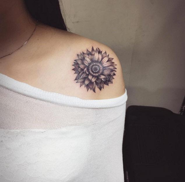 sunflower-tattoo-design-33