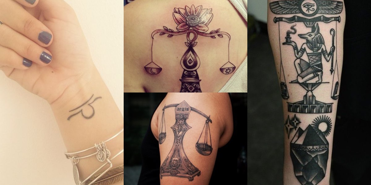 55 tatuaggi con la bilancia e i loro significati altavistaventures Gallery