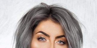 Grey Ombre Caschetto