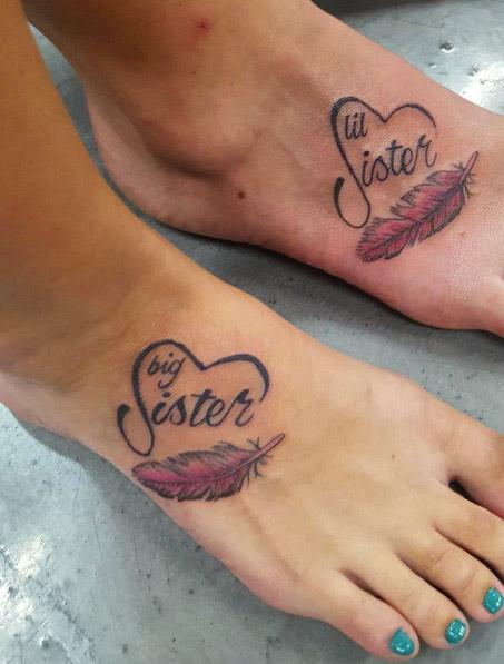 abbastanza 50 tatuaggi per simboleggiare l'amore tra fratello e sorella - RI62
