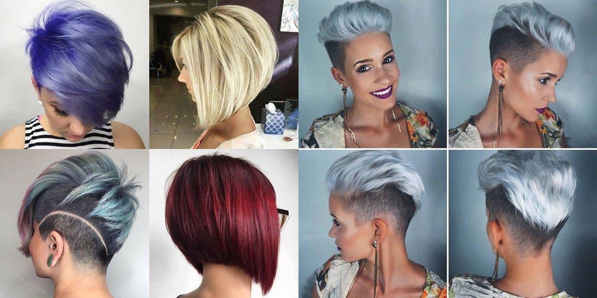 Colori per i capelli corti