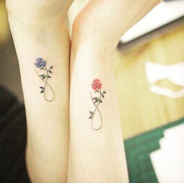 Favoloso 50 tatuaggi per simboleggiare l'amore tra fratello e sorella  IU19