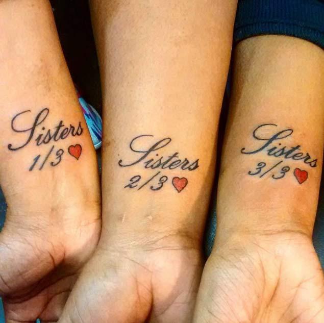 Favoloso 50 tatuaggi per simboleggiare l'amore tra fratello e sorella  FW16