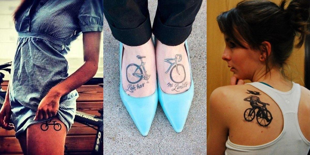 30 Tatuaggi Con La Bicicletta Scelti Per Voi Da Guardare E Condividere