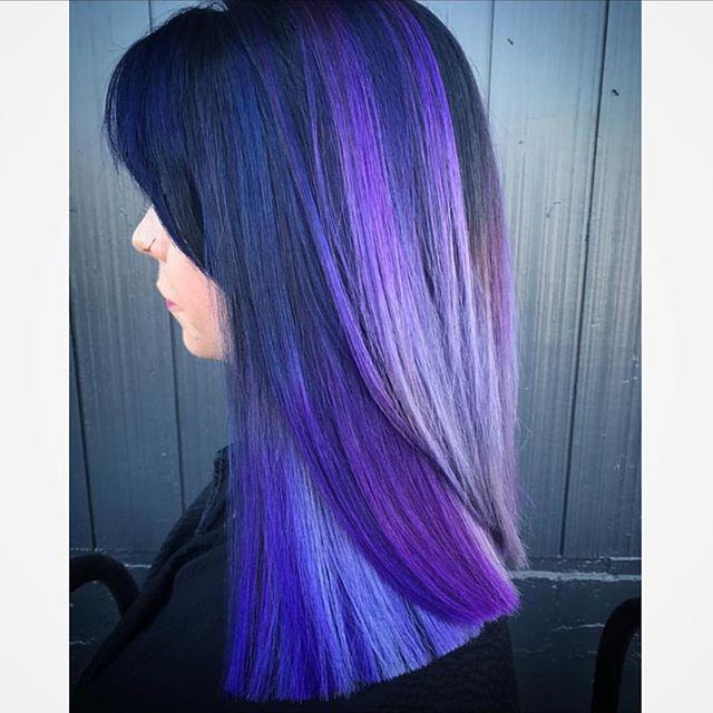 lisci lunghi viola