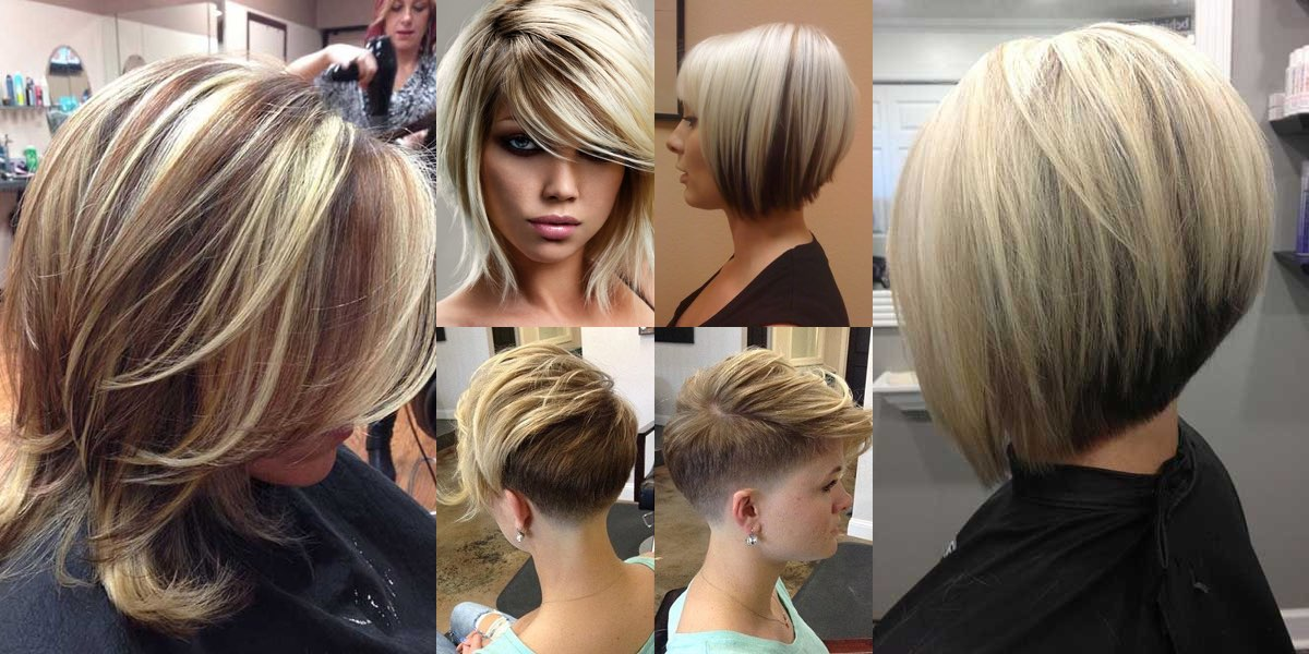 Taglio di capelli corto sopra e lungo sotto
