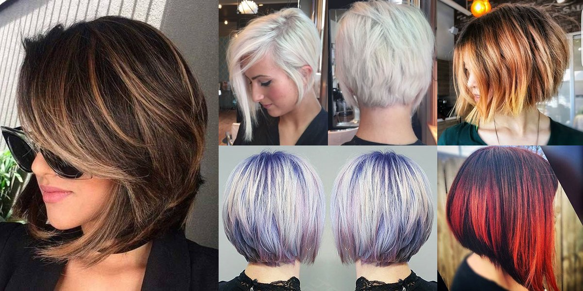 Immagini tagli capelli caschetto scalato