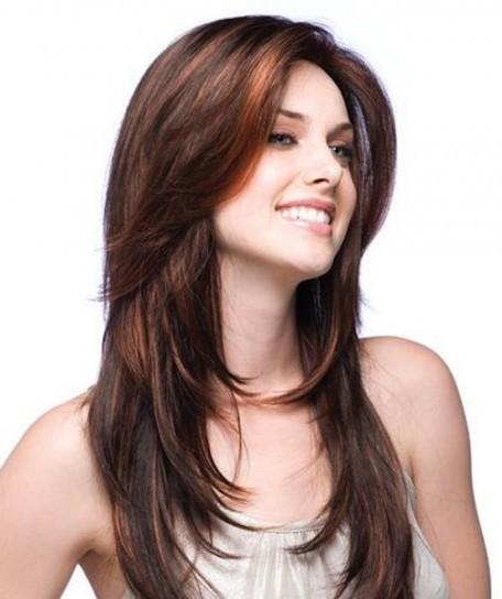 Eccezionale 25 tagli di capelli lunghi e scalati per un effetto morbido e naturale MI04