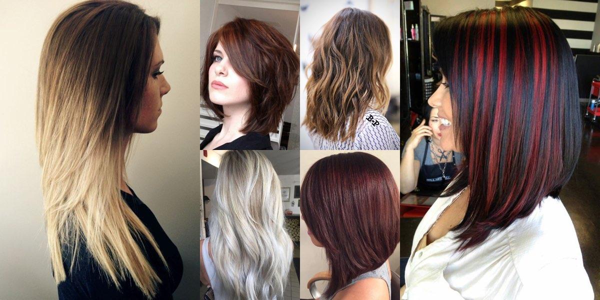 spesso 130 tagli di capelli lunghi per il 2017 da non perdere! FF47