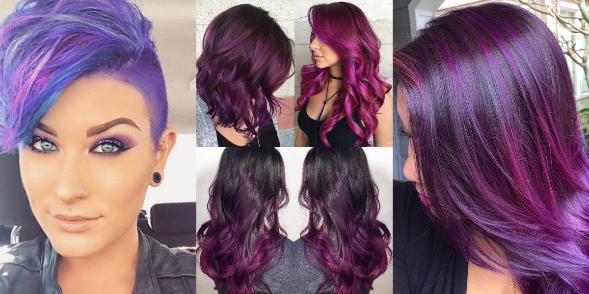 Colore x capelli viola