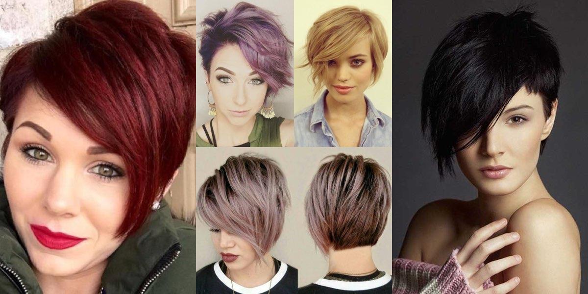 I tagli di capelli corti scalati e asimmetrici hanno sempre rappresentato  un look di particolare riferimento per tutte quelle donne che desiderano