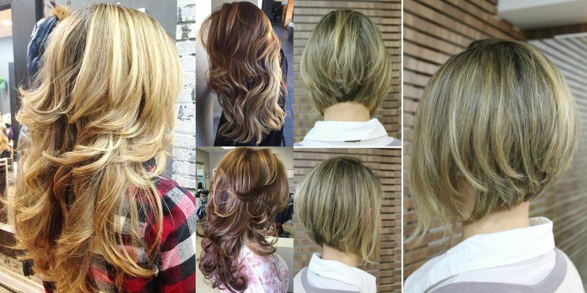 Bel taglio per capelli lunghi