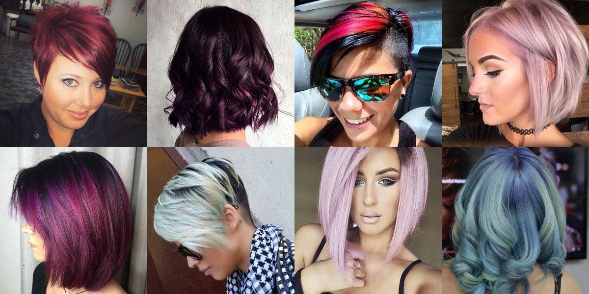 Preferenza Moda capelli, stili e colori ideali per la primavera: 55 foto da  AC13
