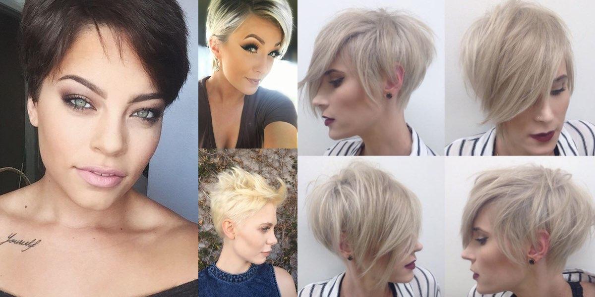 Tagli corti capelli fini e sottili