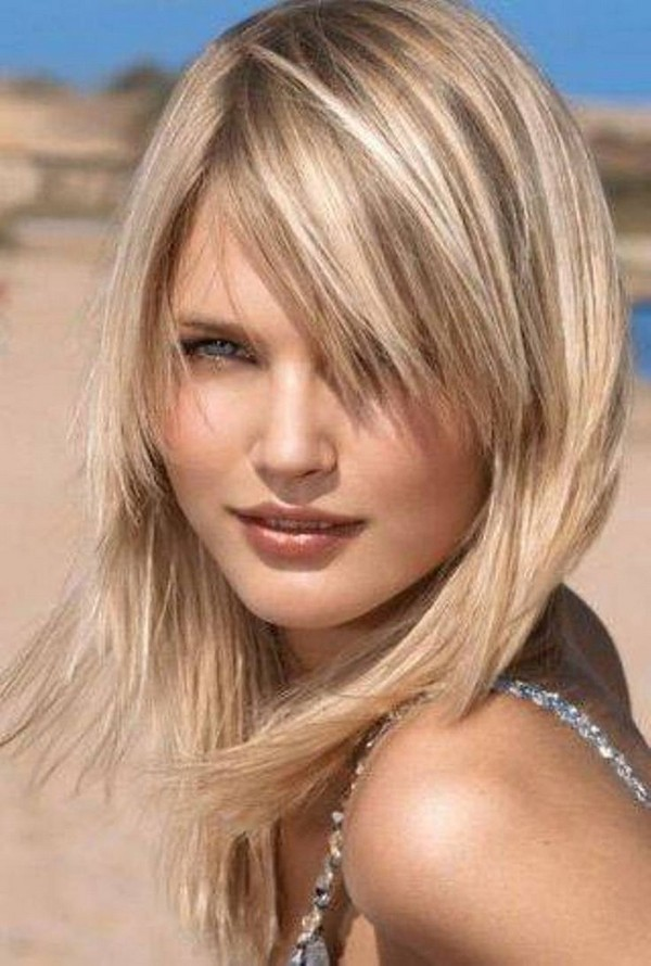 mid length hairstyles for thin hair   CapelliStyle