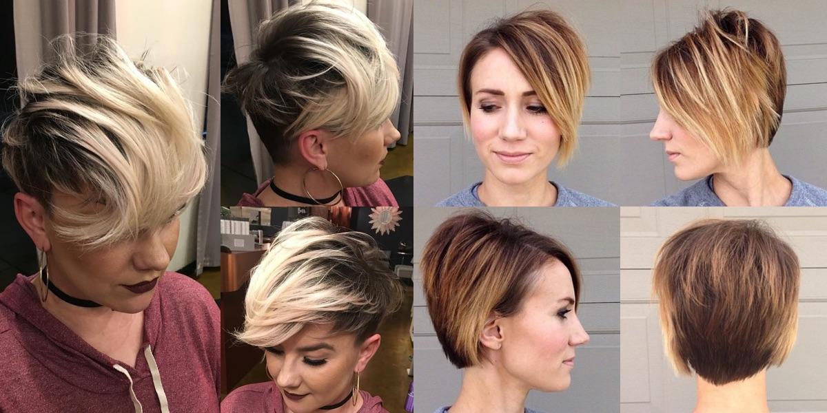 30 tagli di capelli corti con ciuffo per il vostro look di primavera! bf6eb887881d