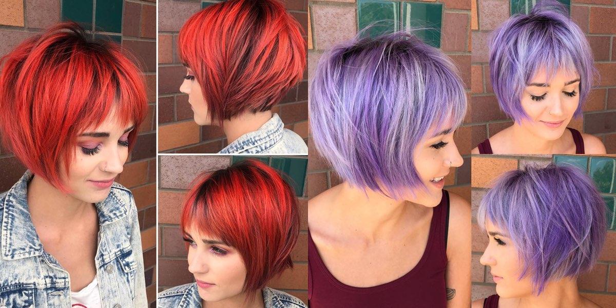 25 nuove idee di colore per i capelli corti!