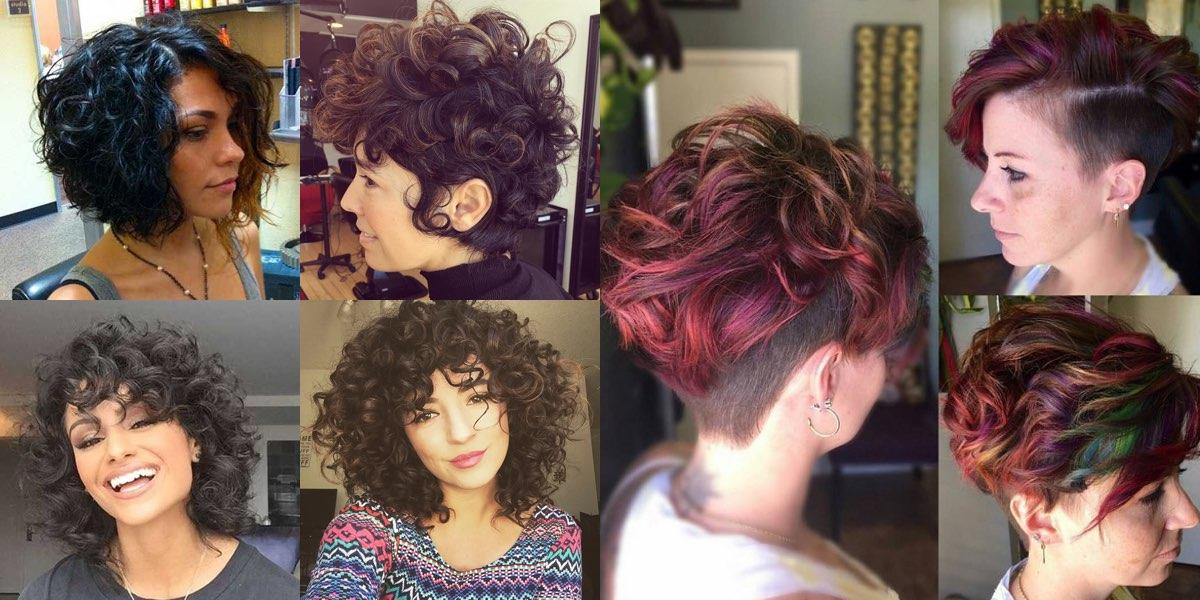 Eccezionale Tagli di capelli ricci, 30 stili da copiare per la vostra estate 2017! RZ28