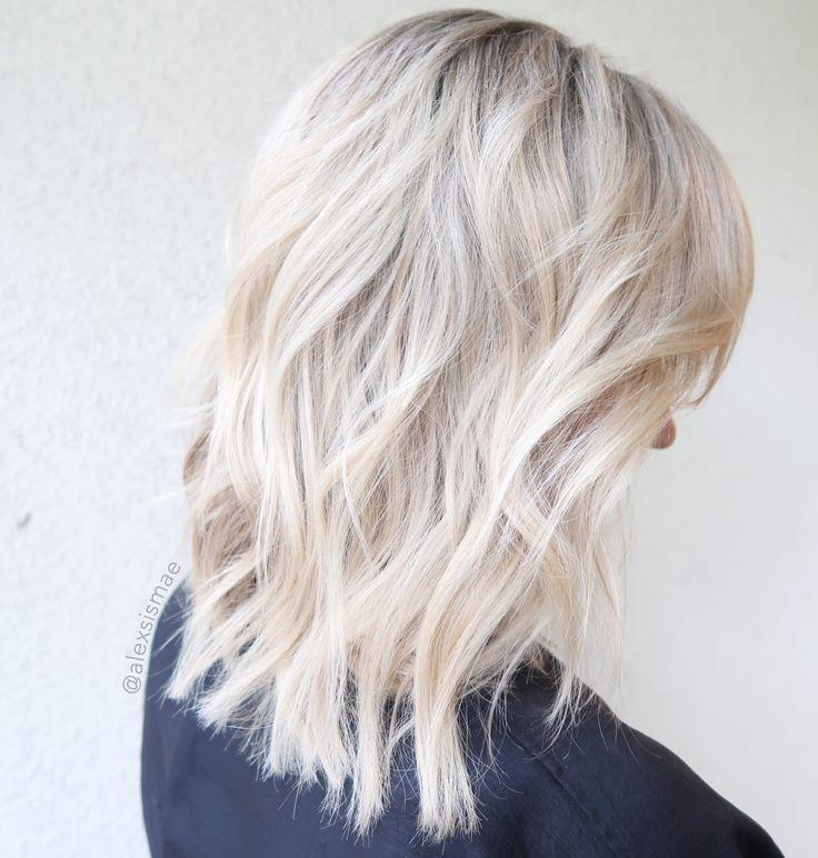874c19506 Come ottenere capelli biondo bianco – Acconciature medi
