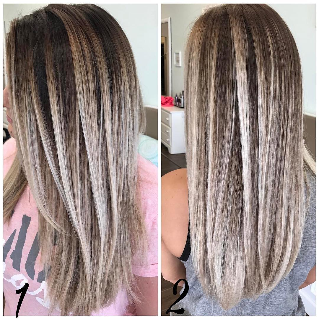 long hair color and style ideas tagli capelli 2018 il ritorno lungo 4308 | sleek long hairstyles with straight hair straight long hair cuts