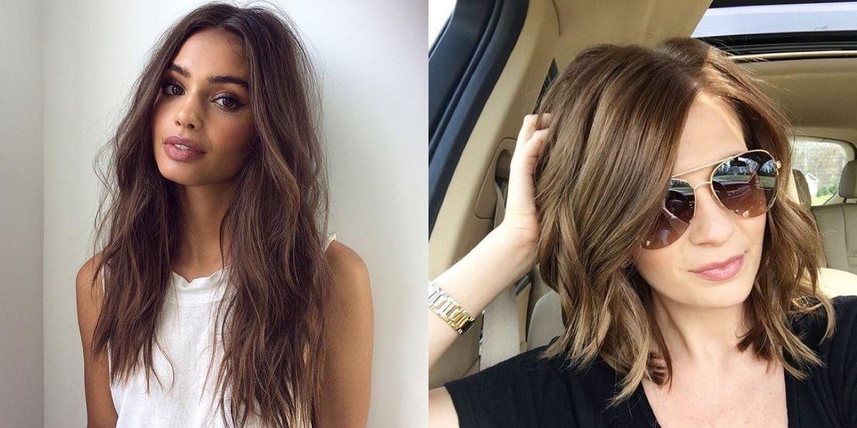 capelli castani 2018
