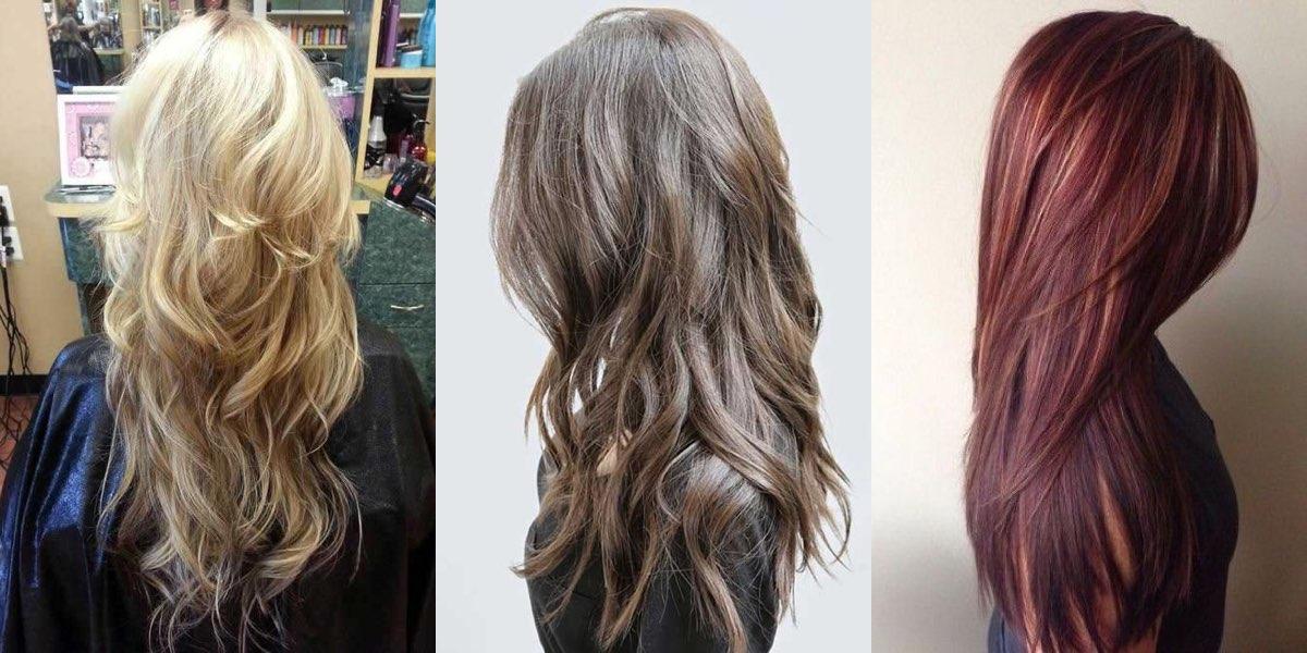 Tagli capelli lunghi scalati inverno 2018