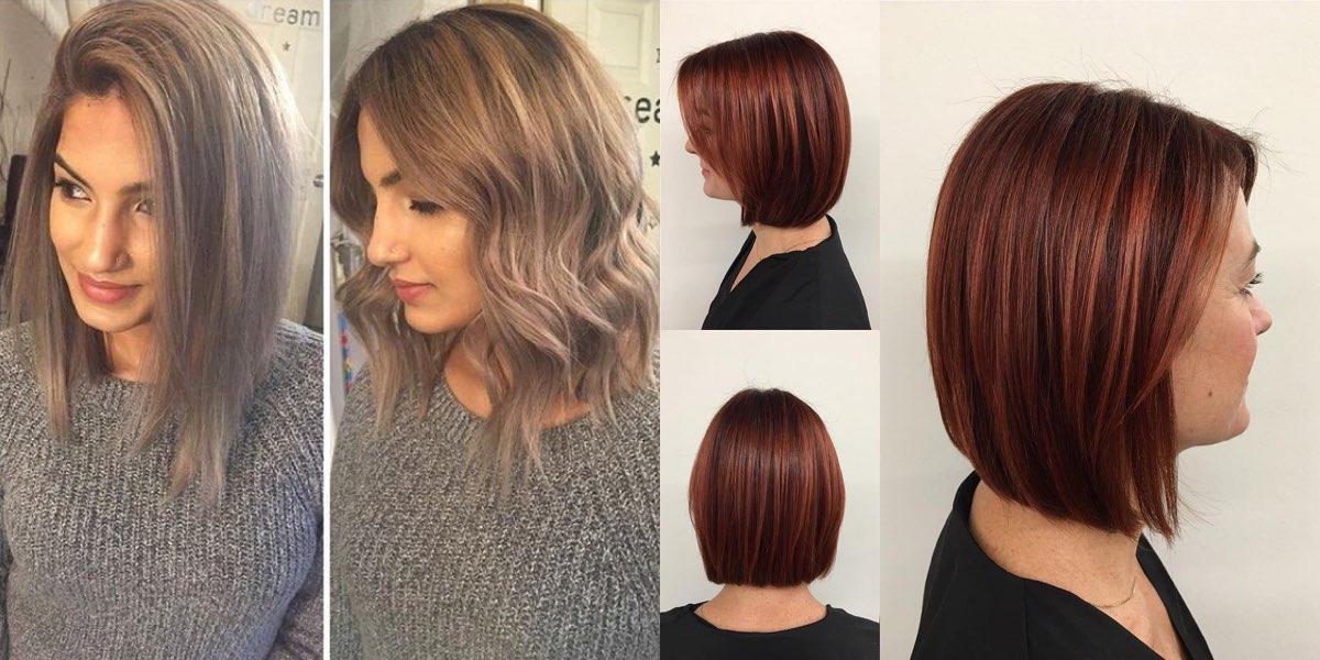 Tagli per capelli di media lunghezza