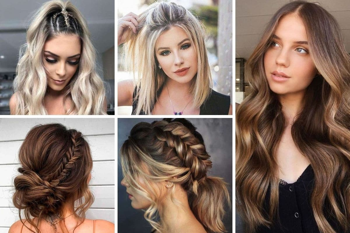 capelli medi e lunghi tendenze