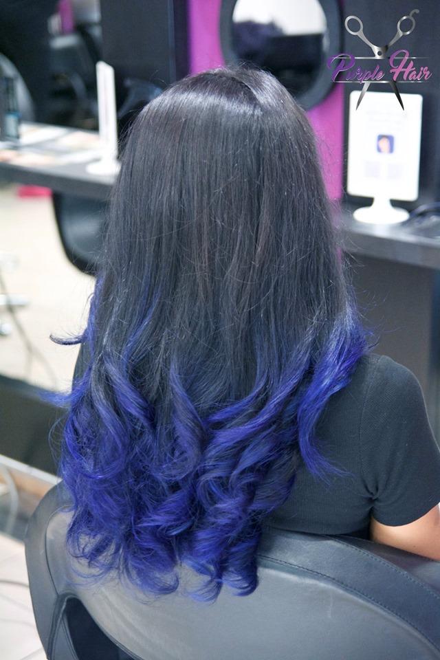 blu neri mossi lunghi