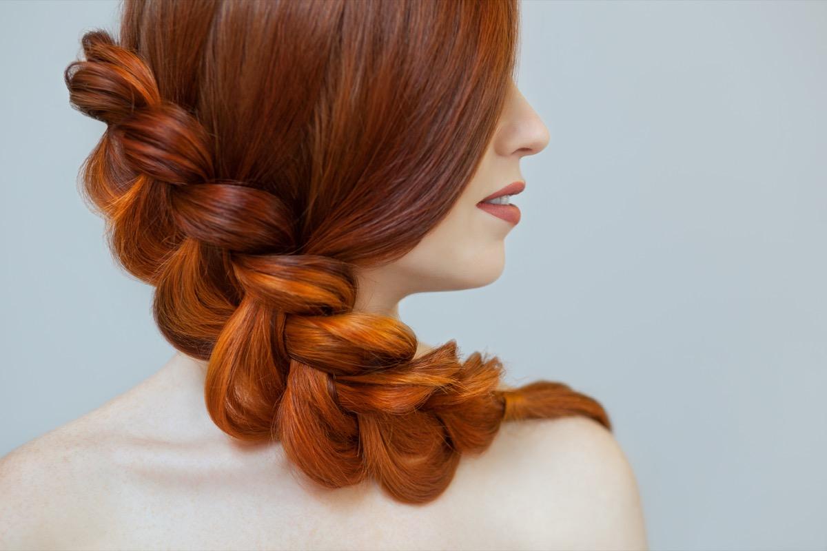 trecce capelli rossi