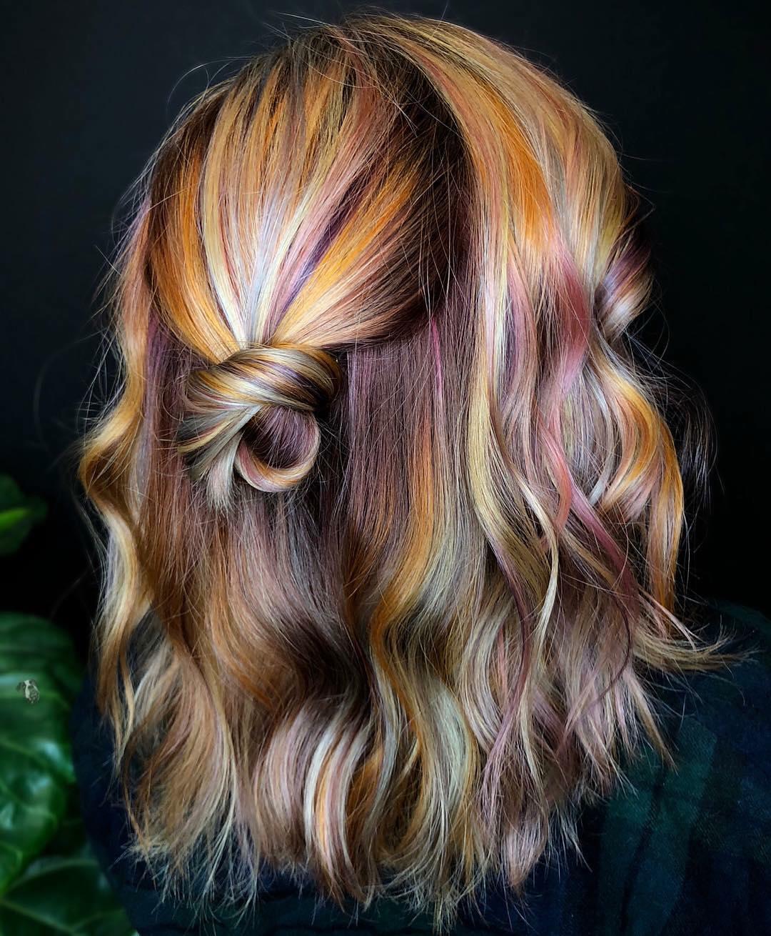 colore capelli lunghi